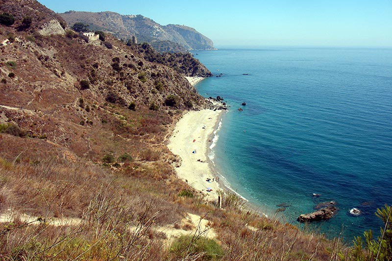 Mediterranean sea and beaches